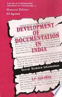 Development of Documentation in India Book