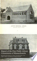 Report Of The Free Public Library Commission Of Massachusetts