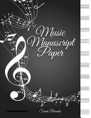Elegant Blank Sheet Music Notebook