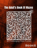 The Adult s Book Of Mazes