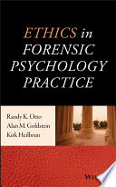 Ethics In Forensic Psychology Practice Book PDF