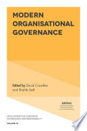 Modern Organisational Governance Book