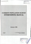 Current Population Survey Interviewing Manual