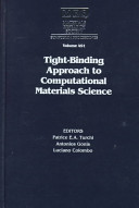 Tight binding Approach to Computational Materials Science
