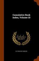 Cumulative Book Index