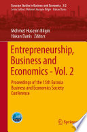Entrepreneurship  Business and Economics   Vol  2