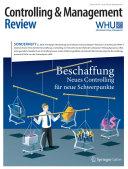 Controlling & Management Review Sonderheft 2-2016
