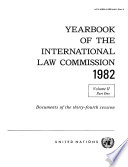 Yearbook of the International Law Commission 1982, Vol II, Part 1