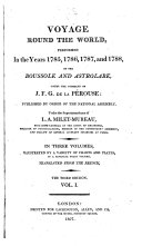 A Voyage Round the World, Performed in the Years 1785, 1786, 1787, and 1788, Y the Boussole and Astrolabe