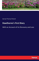 Hawthorne s First Diary
