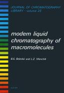 Modern Liquid Chromatography of Macromolecules