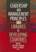 Leadership And Management Principles In Libraries In Developing Countries Book PDF