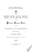Journal of the     Annual Convention  Diocese of Minnesota