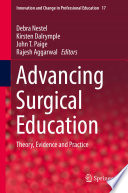 Advancing Surgical Education Book
