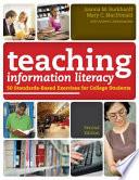 Teaching Information Literacy Book