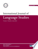 International Journal of Language Studies (IJLS) – volume 7(3)