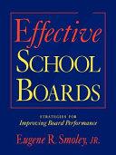 Effective School Boards