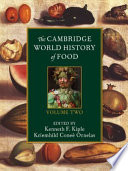 The Cambridge World History Of Food Book