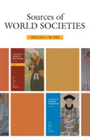 Sources of World Societies  Volume 1  To 1715
