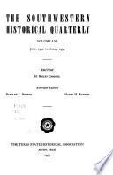 The Southwestern Historical Quarterly
