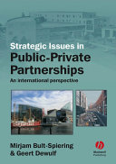 Strategic Issues in Public Private Partnerships