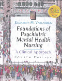 Foundations Of Psychiatric Mental Health Nursing Book PDF