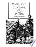 Command and Control for War and Peace Book