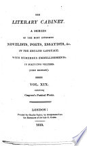 The Poetical Works of William Congreve  With the Life of the Author  Cooke s Edition  Etc   With a Portrait