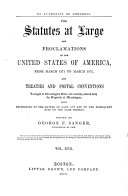 Pdf The Statutes at Large and Proclamations of the United States of America from ...
