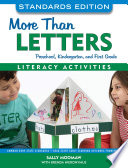 More Than Letters  Standards Edition Book PDF