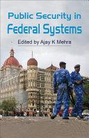 Public Security in Federal Systems Pdf/ePub eBook