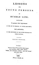 Lessons for Young Persons in Humble Life    10th Ed