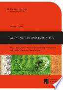 Abundant Life And Basic Needs