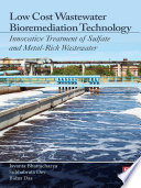 Low Cost Wastewater Bioremediation Technology