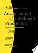 Advancement Of Intelligent Production Book PDF