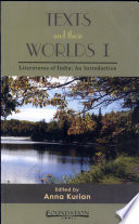 Texts And Their Worlds I Literature Of India An Introduction