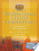 International Lesson Commentary KJV with NRSV Comparison Book