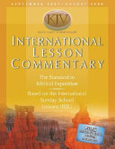 International Lesson Commentary KJV with NRSV Comparison