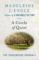A Circle of Quiet Pdf/ePub eBook