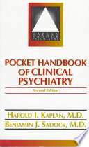 Pocket Handbook of Clinical Psychiatry
