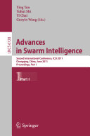 Advances in Swarm Intelligence  Part I