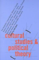 Cultural Studies and Political Theory