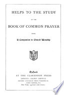 Helps to the Study of the Book of Common Prayer