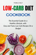LOW CARB DIET COOKBOOK Book