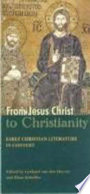 From Jesus Christ to Christianity