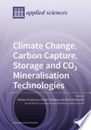 Climate Change  Carbon Capture  Storage and CO2 Mineralisation Technologies Book