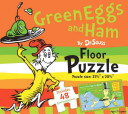 Green Eggs and Ham by Dr. Seuss Floor Puzzle