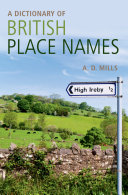 A Dictionary of British Place-Names Pdf