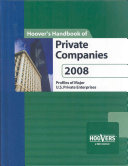 Hoover s Handbook of Private Companies 2008