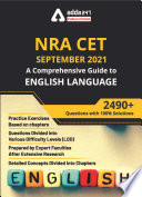 A Comprehensive Guide to English Language for NRA CET Exam eBook